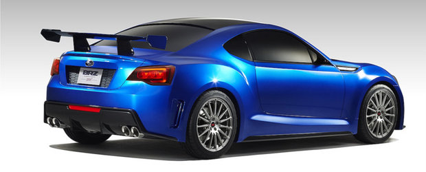 Gata de debut: Subaru prezinta conceptul BRZ STI!