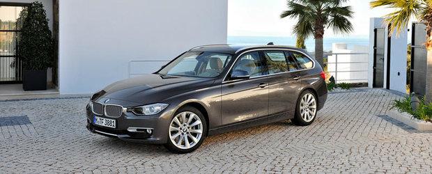 Gata de lansarea oficiala: Noul BMW Seria 3 Touring