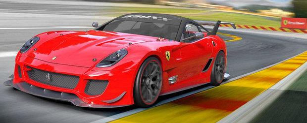 Gata de lupta: Ferrari lanseaza noul 599XX Evoluzione!
