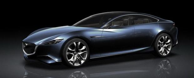 Gata de Paris: Mazda prezinta noul Shinari Concept