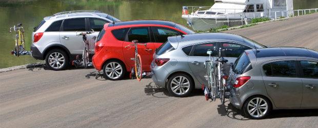 Gata de primavara cu sistemul de transport biciclete FlexFix de la Opel