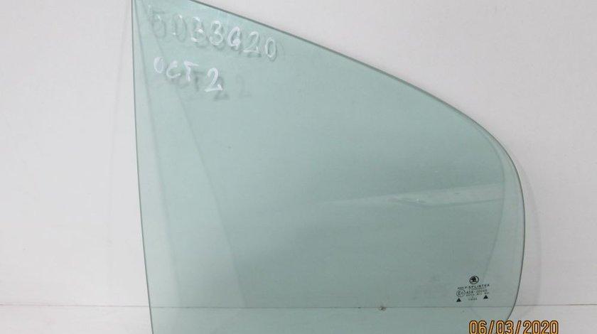 Geam fix stanga spate Skoda Octavia 2 an 2004-2005-2006-2007-2008