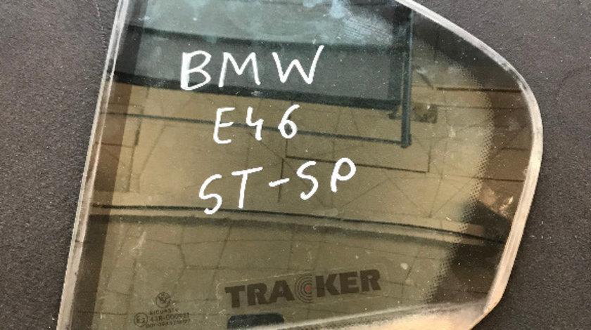 Geam fix usa spate stanga sau dreapta bmw seria 3 e46 318 1998 - 2004 berlina