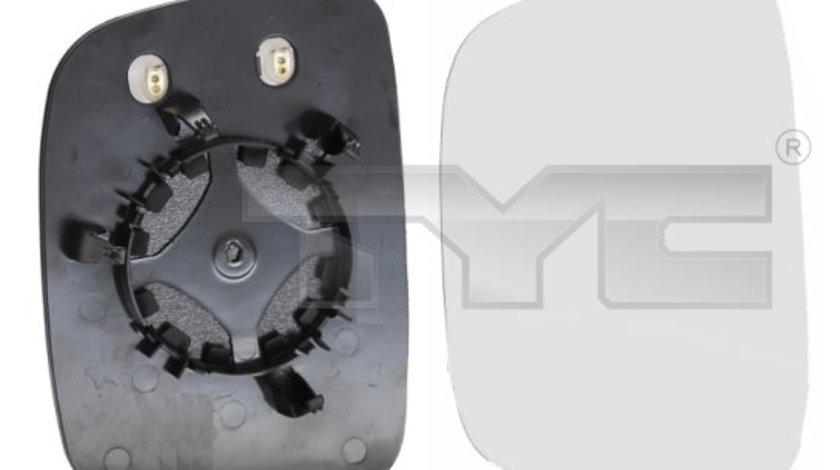 Geam oglinda incalzita dreapta VW Caddy 2010-2015