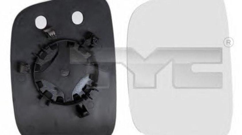Geam oglinda oglinda stanga tyc pt vw caddy 3,transporter 5 2003-2009