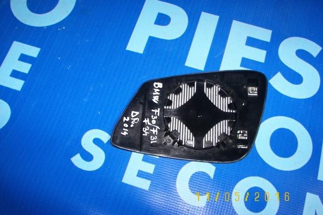 Geam oglinda portiera BMW F30