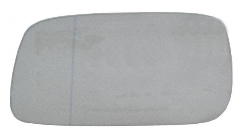 Geam oglinda Seat Inca (6K9), 11.1995-12.2003, Vw Caddy 2 (9U/9Kv), 11.1995-01.2004, Vw Passat, Sedan+Combi (B3 / B4), 03.1988-10.1996, Stanga, Crom, Fara incalzire, Asferica, BestAutoVest 9546541E Kft Auto