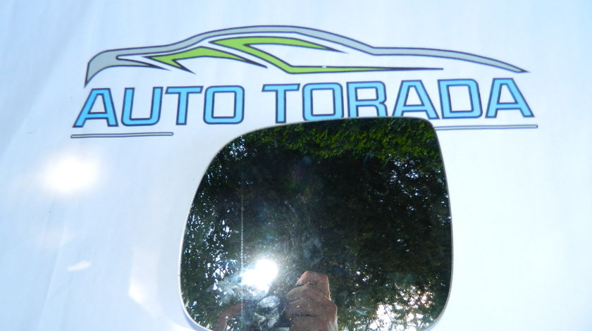 Geam oglinda stanga Audi Q5,Q7 model 2010-2014 cod 8R0857535H