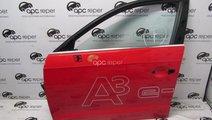 Geam stanga fata Audi A3 8V