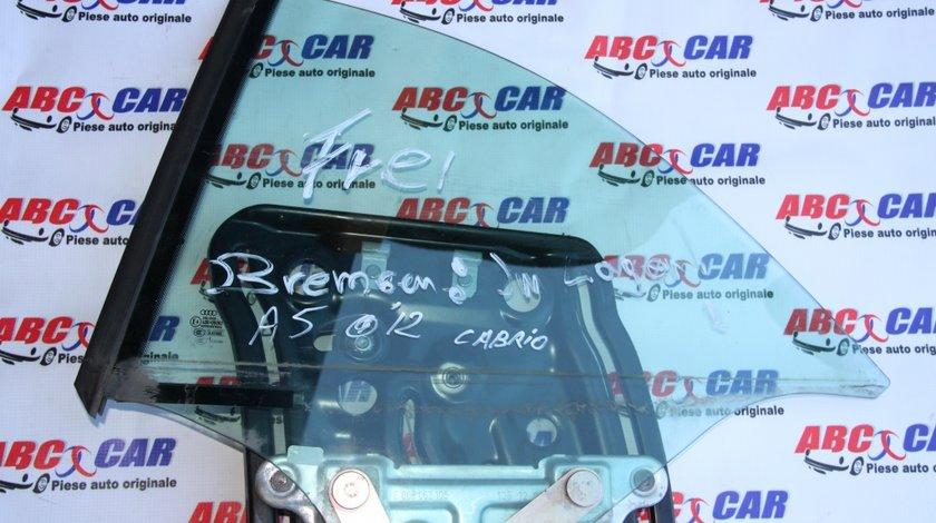 Geam stanga spate Audi A5 Cabrio model 2013