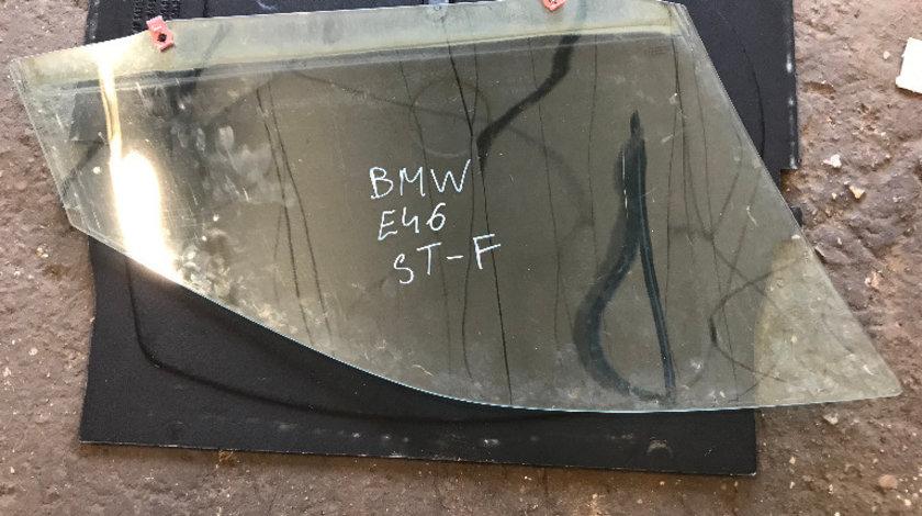 Geam usa stanga fata bmw seria 3 e46 318 1998 - 2004