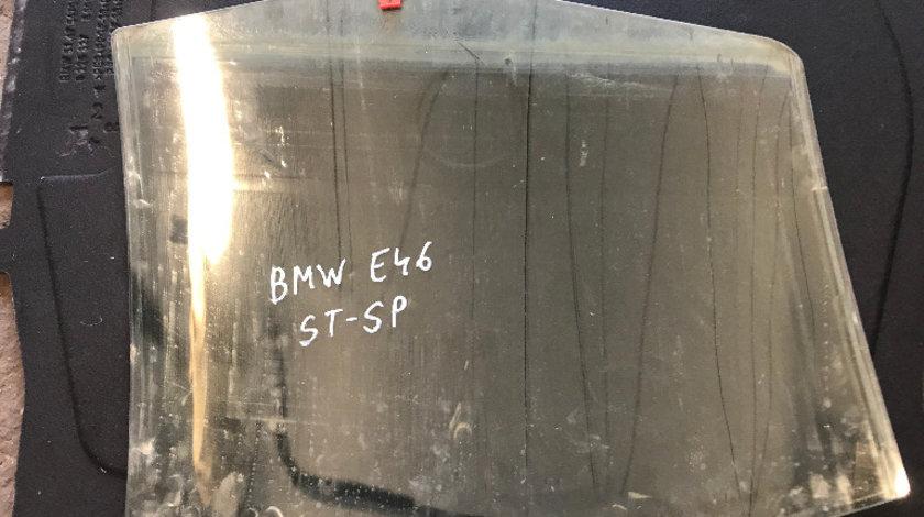 Geam usa stanga spate bmw seria 3 e46 318 1998 - 2004 berlina