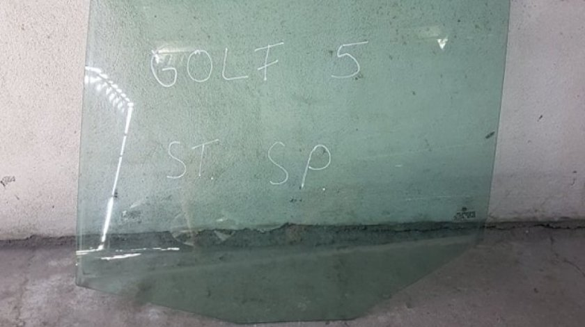 Geam usa stanga spate vw golf 5 hatchback 2003-2009