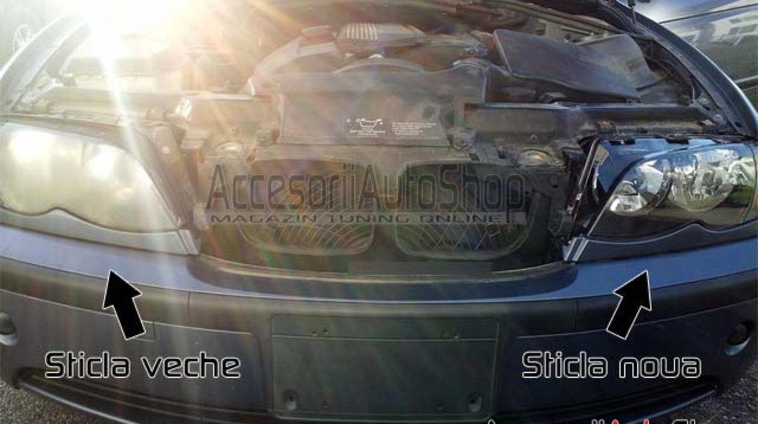 Geamuri far BMW E46 FACELIFT