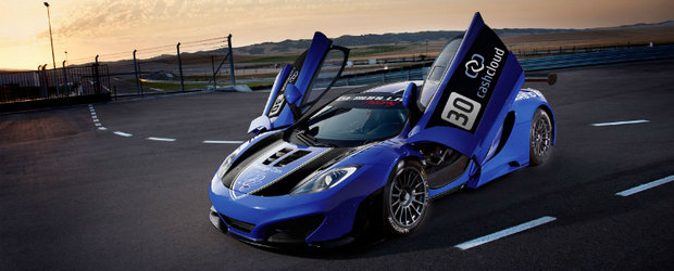 Gemballa intra in motorsport cu un McLaren MP4-12C GT3