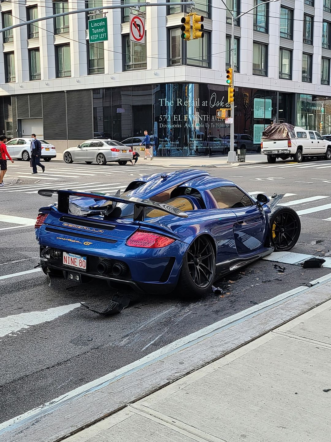 Gemballa Mirage GT accident - Gemballa Mirage GT accident