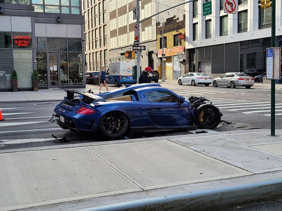Gemballa Mirage GT accident