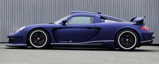 Gemballa Mirage GT isi face din nou aparitia, de aceasta data in albastru mat!
