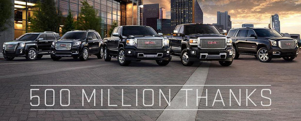 General Motors celebreaza 500 de milioane de masini produse