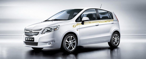 General Motors lanseaza o berlina electrica in China