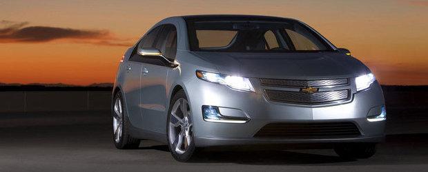 General Motors suspenda pentru 5 saptamani productia lui Chevrolet Volt