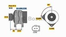 Generator / Alternator AUDI A4 8K2 B8 BOSCH 0 986 ...