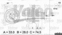 Generator / Alternator BMW X5 E53 VALEO 437116
