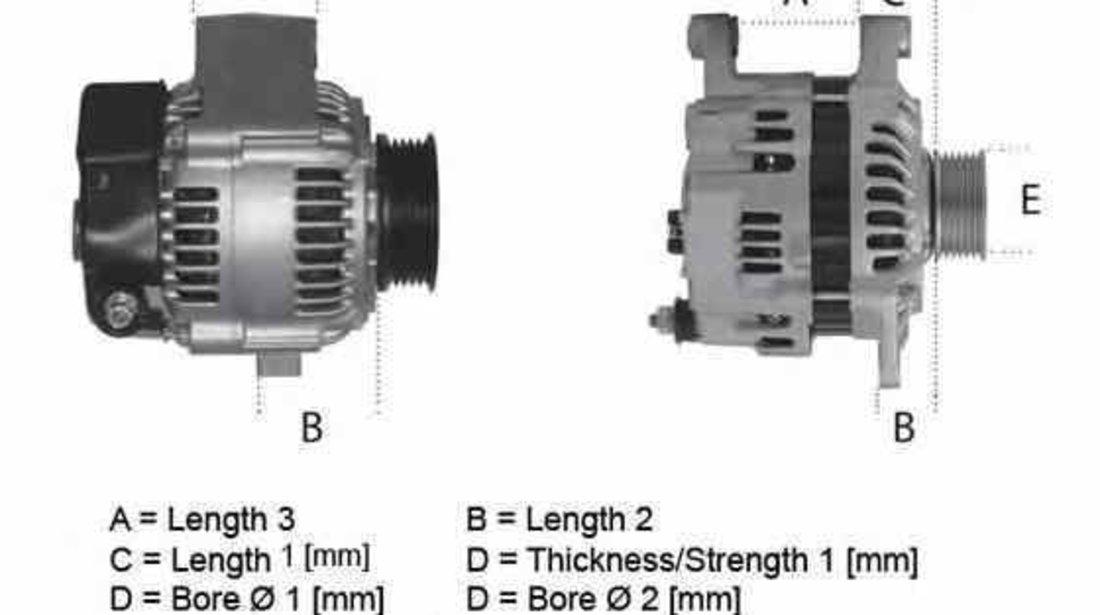 Generator / Alternator LAND ROVER FREELANDER LN ELSTOCK 28-3870