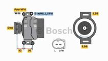 Generator / Alternator MERCEDES-BENZ VIANO W639 BO...