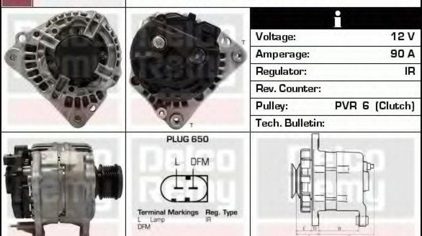 Generator / Alternator VW NEW BEETLE (9C1, 1C1) (1998 - 2010) DELCO REMY DRB1490 - produs NOU