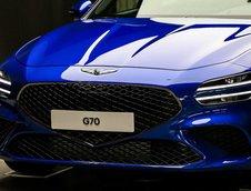 Genesis G70 Facelift - Poze reale