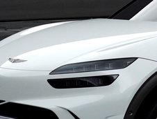 Genesis GV60 pe alb