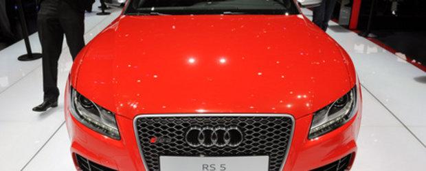 Geneva 2010: Audi RS5 e sexy in rosu