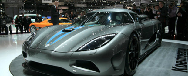 Geneva 2010: Koenigsegg Agera - Welcome to the next level