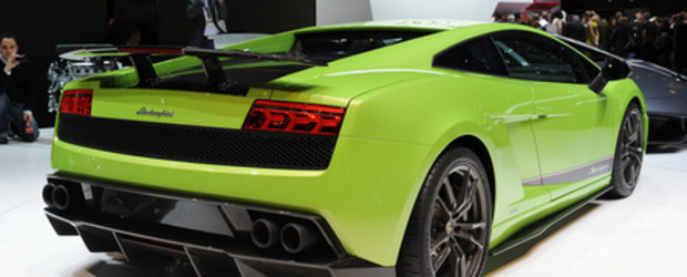 Geneva 2010: Lamborghini Gallardo LP570-4 Superleggera iti taie respiratia