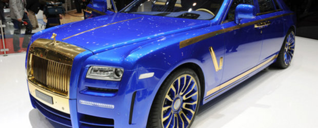 Geneva 2010: Mansory Rolls Royce Ghost nu arata prea bine nici in persoana...