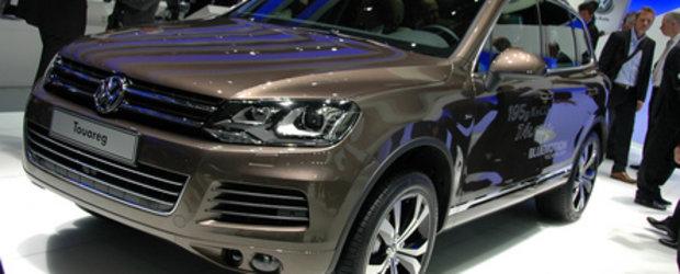 Geneva 2010: Noul VW Touareg este mai fluent, mai sportiv, mai usor