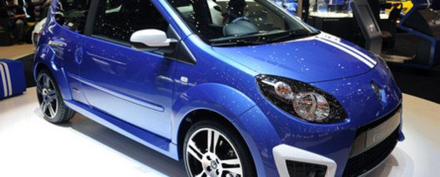 Geneva 2010: Renault Clio si Twingo primesc tratamentul Gordini