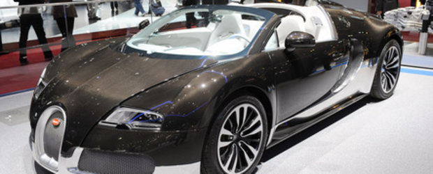 Geneva 2010: Veyron Grand Sport isi arata fibra de carbon