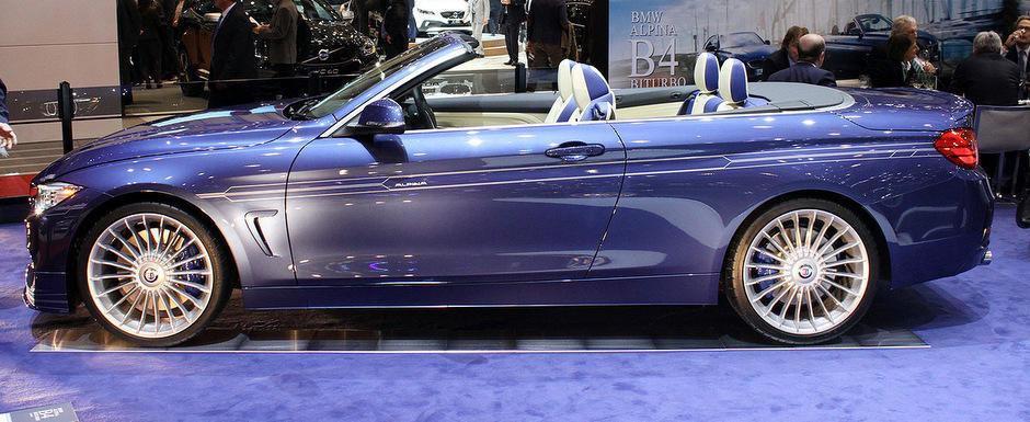 Geneva 2014: Alpina B4 Bi-Turbo Cabrio ni se dezvaluie in mod oficial