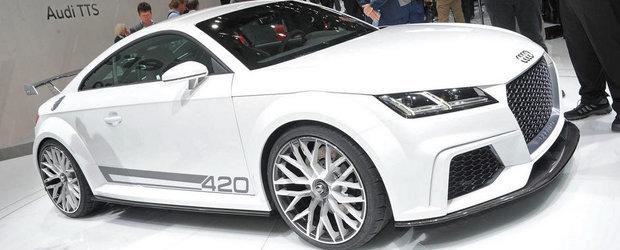 Geneva 2014: Audi ne face cunostinta cu noile TT si TT Quattro Sport