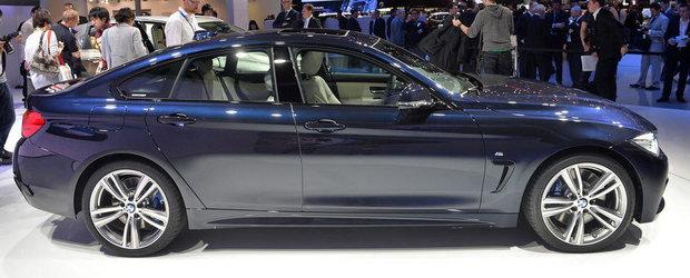 Geneva 2014: BMW Seria 4 GC se alatura petrecerii coupe-urilor in patru usi