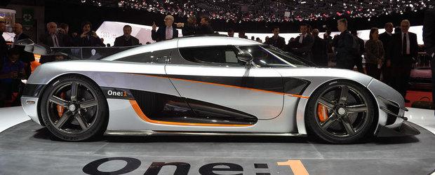 Geneva 2014: Koenigsegg dezvaluie prima masina de serie cu putere de 1 MW