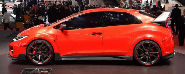 Geneva 2014: Noul Civic Type R ni se dezvaluie in toata... agresivitatea sa