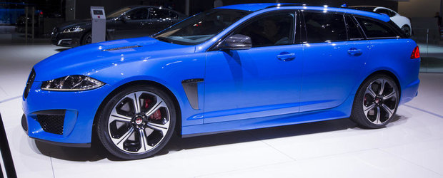 Geneva 2014: Noul Jaguar XFR-S Sportbrake iese la vanatoare de Audi RS6 Avant