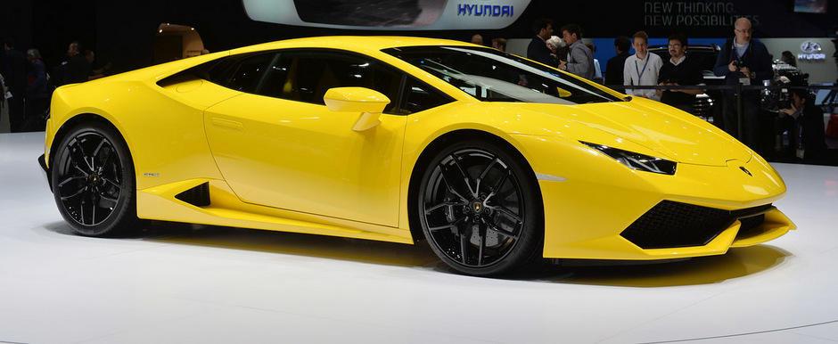 Geneva 2014: Noul Lamborghini Huracan saluta iubitorii de supercaruri