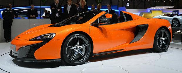 Geneva 2014: Noul McLaren 650S promite 650 CP si 0-100 km/h in 3 secunde
