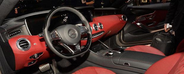 Geneva 2014: Noul S-Class Coupe imbina cu mare succes luxul si sportivitatea