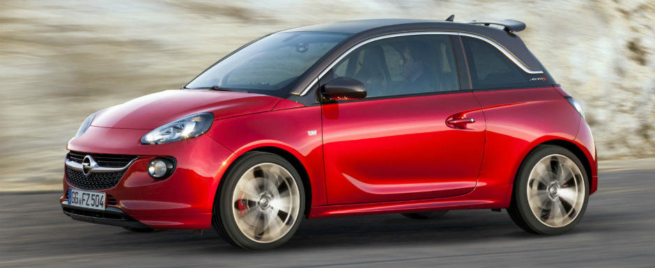 """Geneva 2014: Opel Adam S, cel mai puternic """"mini"""" prezentat de nemti"""