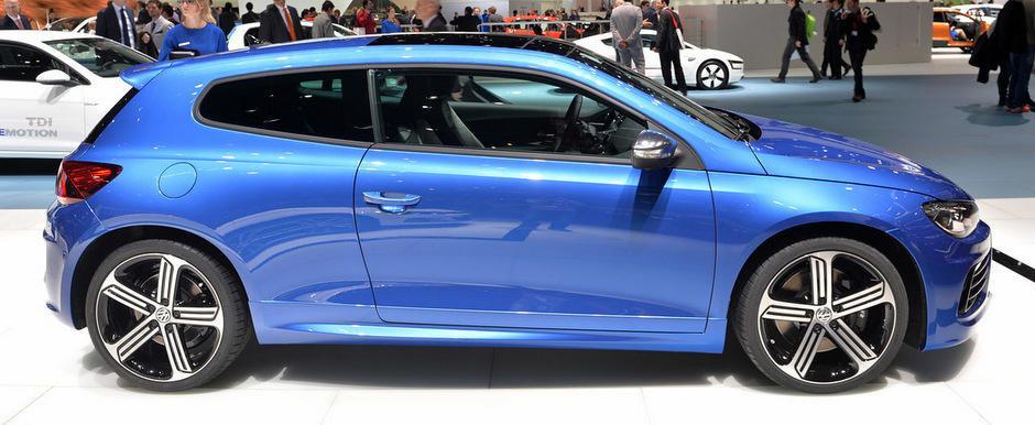 Geneva 2014: Volkswagen prezinta noul Scirocco Facelift